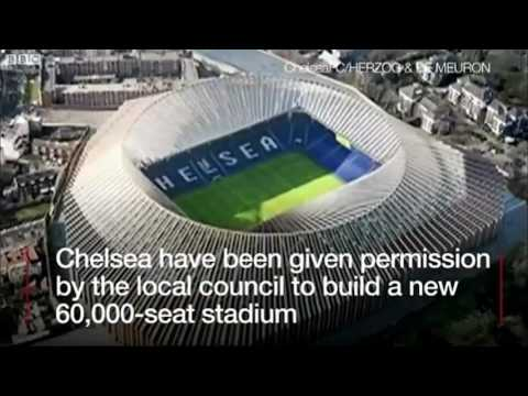Chelsea FC new stadium plans approved.
