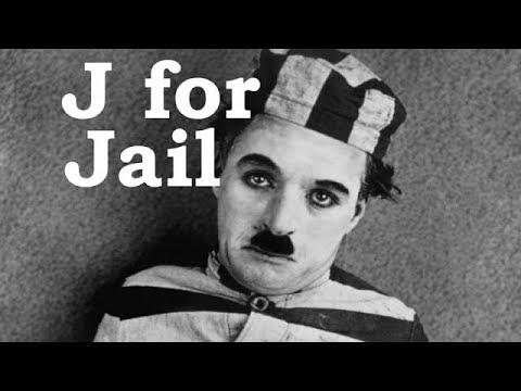 Charlie Chaplin ABCs - J for Jail