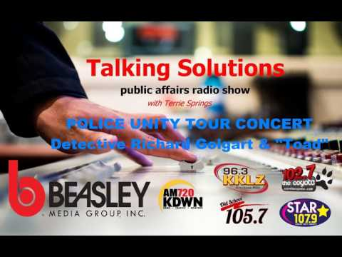 Talking Solutions and the Police Unity Tour Concert