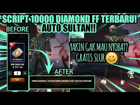 script-10000-diamond-ff-terbaru-auto-sultan-!-garena-free-fire.-#scriptdiamond-#ff-#hapsah