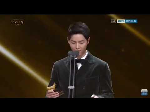MC Song Joong Ki at KBS Drama Awards 2017