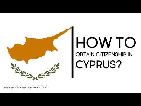 How to obtain citizenship in Cyprus?