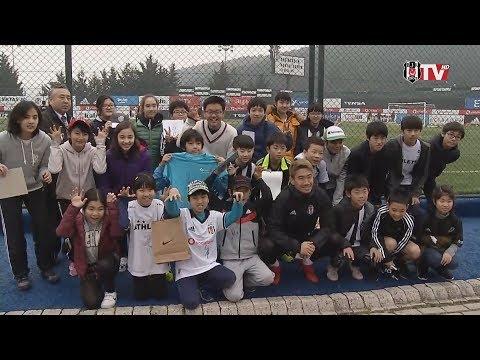 香川選手と邦人児童ら交流 トルコ、練習を見学