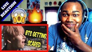BTS SCARED MOMENTS | 방탄소년단 겁쟁이 REACTION