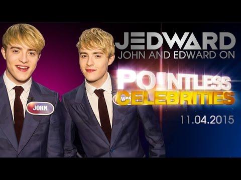 Don't miss JEDWARD on Pointless Celebrities tonight!