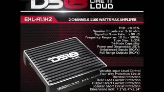 ds18 exl a1 1k2 2ch amplifier