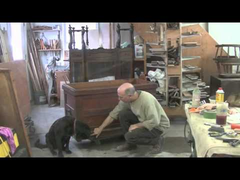 Restoring without Refinishing: an Antique Chest - Thomas Johnson Antique Furniture Restoration