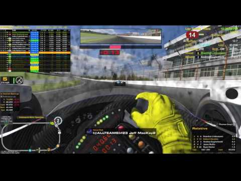 iRacing Indy 500 2017 - Victory last 50 laps