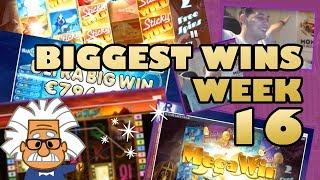 Casino Bonus Master Twitch - Biggest Wins Bonus Games  - Week 16 - 2018