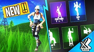 "Nouveau! ""LEAKED"" FOOTAGE OF EMOTES COMING TO FORTNITE BATTLE ROYALE!"