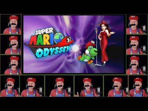 Jump Up, Super Star!  KARAOKE Acapella - Super Mario Odyssey (Sing-A-Long w/ Lyrics)