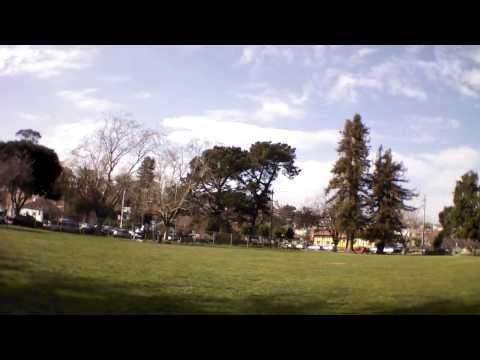 AR.Drone 2.0 Video: 2014/01/24 – Runnaway over school