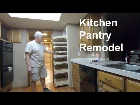 DIY Kitchen Pantry