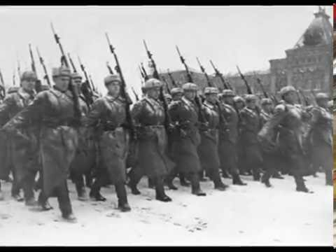 Soviet October Revolution Parade, 1941 Парад 7 Ноября