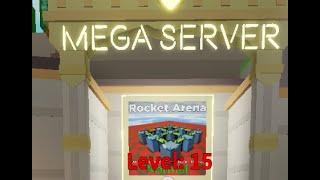 Roblox TDS - Rocket Arena TRIUMPH (Mega Server)