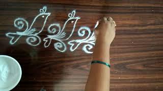 Rangoli designs....borders...simple N easy...