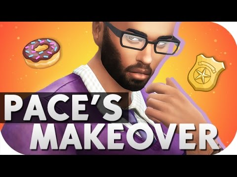 THE SIMS 4 // CITY LIVING | PACE FOREMAN'S MAKEOVER