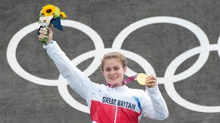 video: From riding a second-hand bike to winning Olympic gold – Bethany Shriever's mother says BMX star proves 'normal' kids can win