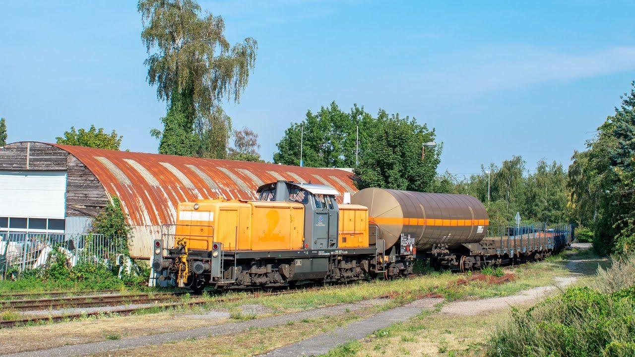 Hafenbahn Emmerich met BEG 295 057