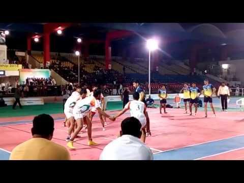 43rd JUNIOR NATIONAL KABADDI CHAMPIONSHIP 2016| KABADDI MATCH HARYANA VS ALL INDIA SAI FINAL MATCH