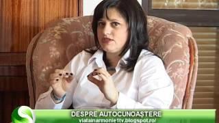 VIATA IN ARMONIE - NICULINA GHEORGHITA- DESPRE AUTOCUNOASTERE - 12 12 2015