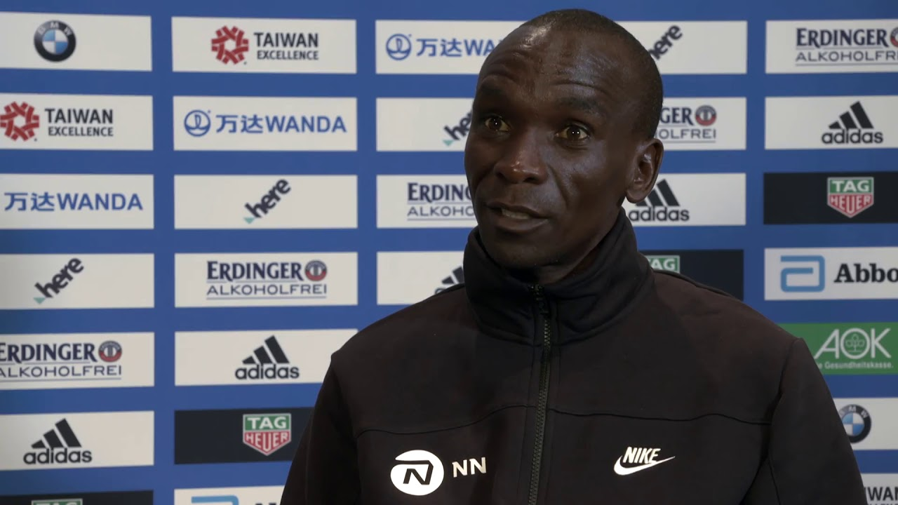 VIDEO RELEASE: BMW BERLIN-MARATHON ON SUNDAY:  Video interviews with Eliud Kipchoge