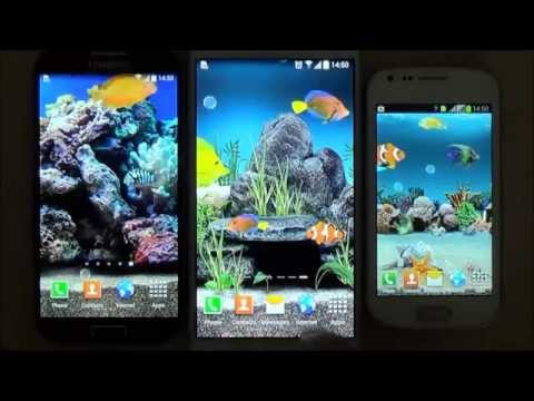 Aquarium Live Wallpaper For Android Phones And Tablets