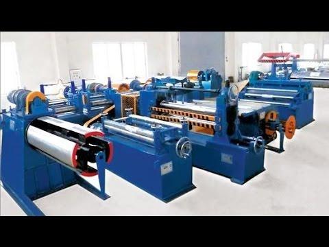 Decoiler Slitting Cutting Coiler Line Metal Sheet