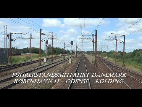 Führerstandsmitfahrt Dänemark: København H - Kolding mit IC849