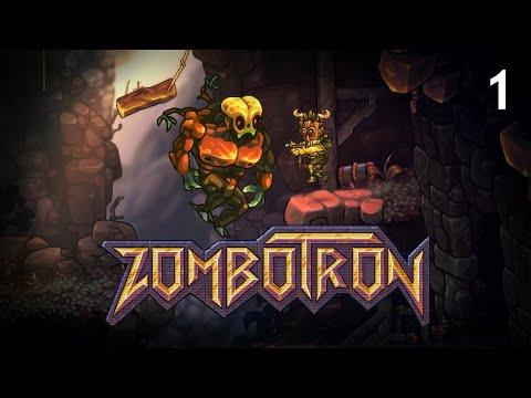 Zombotron 3 – Прохождение. Часть 1 – Зомби Гигант (Зомботрон 3)