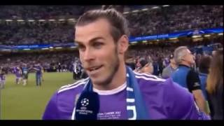 gareth bale interview after wining final uefa champions league