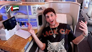 Download MY INSANE $15,000 AIRPLANE SEAT!! (I'M IN DUBAI) Mp3 and Videos