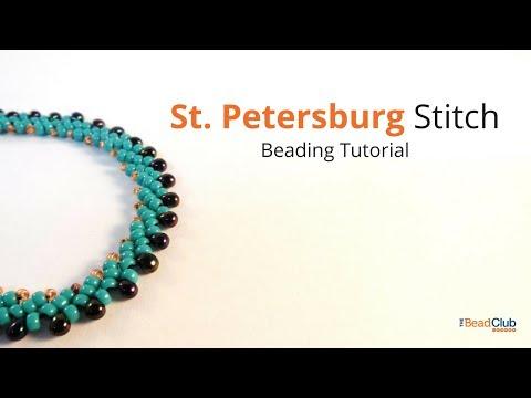 St  Petersburg Stitch Necklace Tutorial