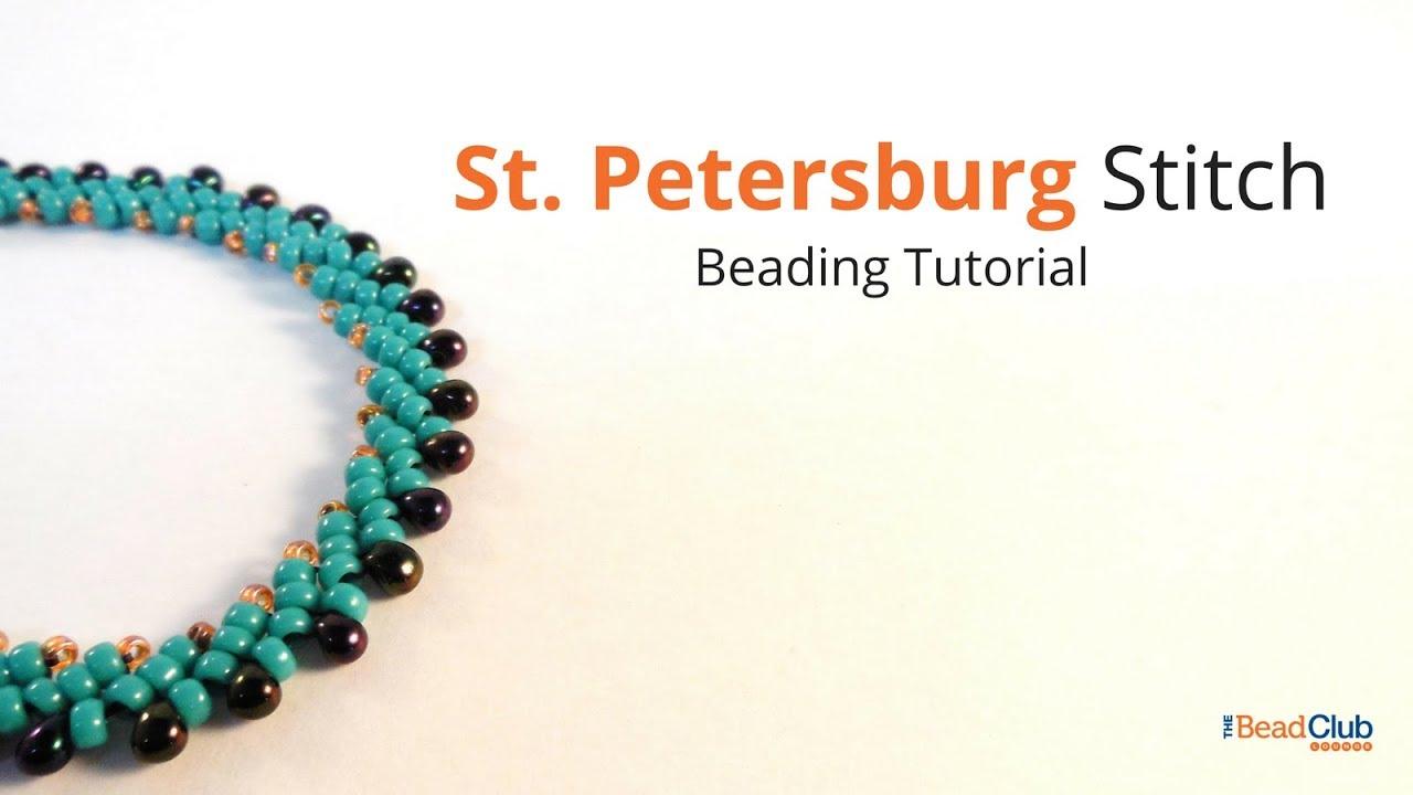single st petersburg stitch