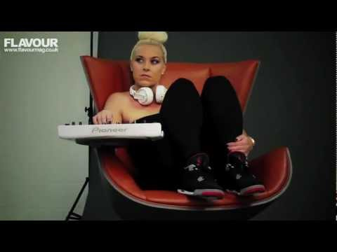 Sexy DJ Sam Divine talks music, fitness & does yoga poses! (Defected Records)