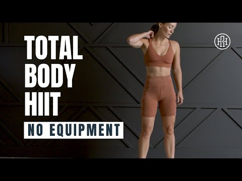 Total Body HIIT WORKOUT with No Equipment