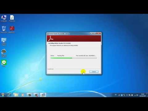 สอนติดตั้งโปรแกรมอ่านไฟล์ PDF Adobe Reader