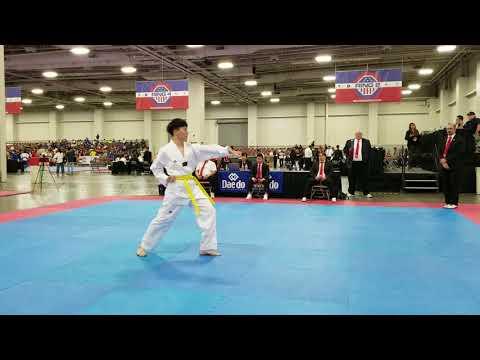2018 USAT national taekwondo championships  dong won yi