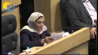 النائب مريم اللوزي : ان كلفة علاجي بلغت نحو مليون دينار والحكومة دفعت لي 44 الف دينار