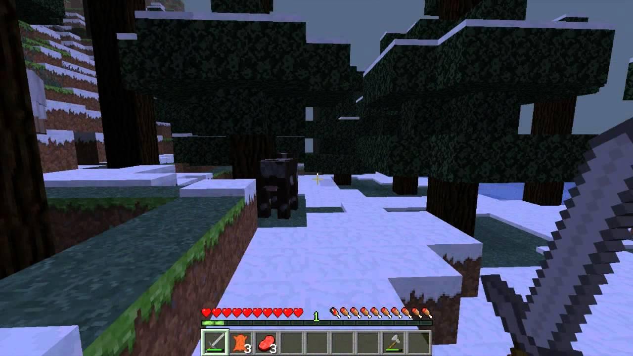 Minecraft - O inicio de uma temporada xD!!! KIZI e KOHAN ...