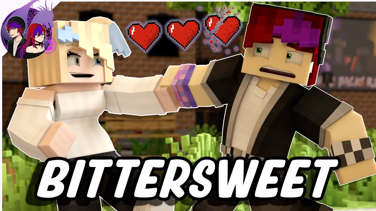 """""""Bittersweet"""" 🎵 Minecraft Animation Love Music Video (Song by Rees)"""