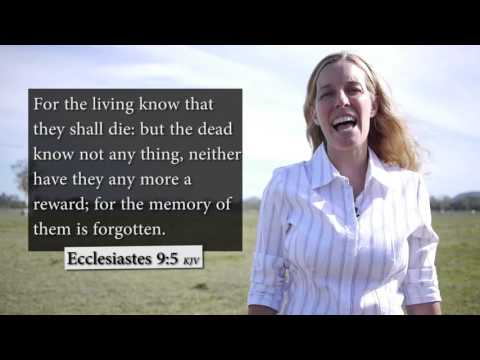 Ecclesiastes 9:5 KJV - The dead know not anything - Musical Memory Verse