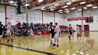Lincoln Academy at Camden Hills boys basketball
