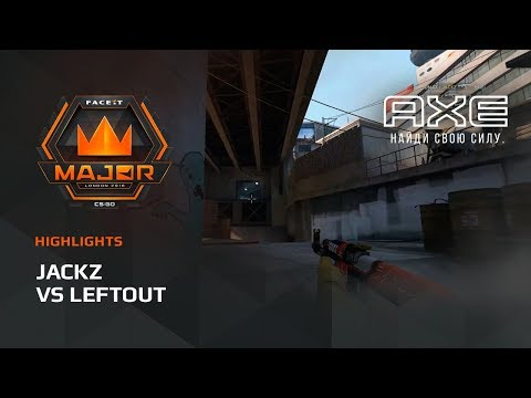 JaCkz vs LeftOut Europe Minor – FACEIT Major 2018