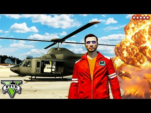 GTA 5 Total War with the Valkyrie!! EPIC Five Star Insanity w/The Stream Team (GTA 5 Funny Moments)