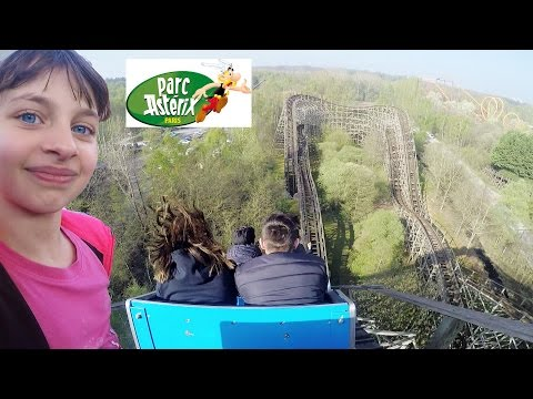VLOG • Morning Routine et Manèges au Parc Astérix - Studio Bubble Tea parc d'attractions