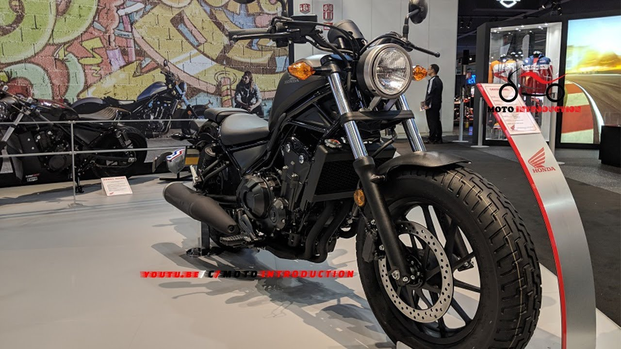 new 2019 honda cmx500 rebel cruiser motorcycle 2019 honda rebel 500 cruiser debut at eicma. Black Bedroom Furniture Sets. Home Design Ideas