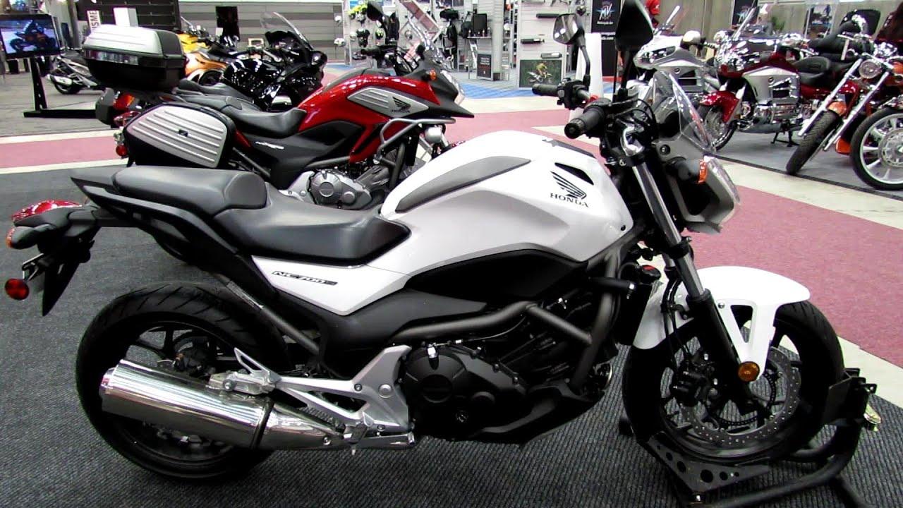 2013 Honda NC700S - Walkaround - 2013 Quebec City Motorcycle Show ...