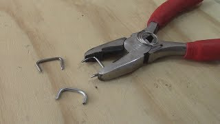 Custom Hog-Ring Pliers - Car upholstery