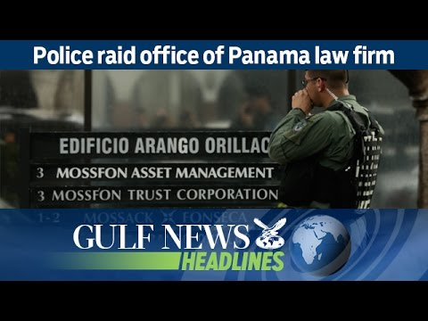 Police raid office of Panama law firm - GN Headlines